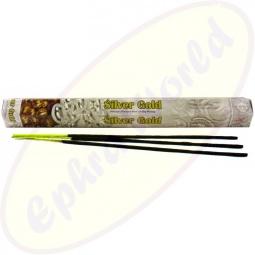 Flute Silver Gold Räucherstäbchen