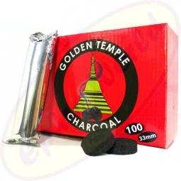 Golden Temple Räucherkohle 33mm charcoal