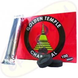 Golden Temple Räucherkohle 40mm charcoal