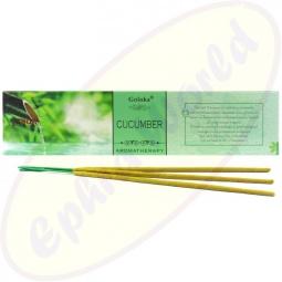 Goloka Aromatherapy Cucumber indische Masala Räucherstäbchen