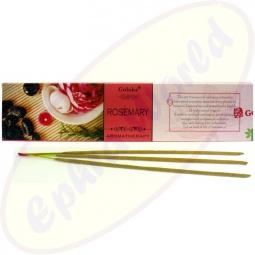 Goloka Aromatherapy Rosemary indische Masala Räucherstäbchen