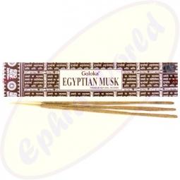 Goloka Egyptian Musk Masala Räucherstäbchen