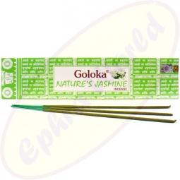 Goloka Nature´s Jasmine indische Masala Räucherstäbchen