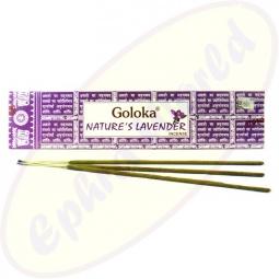 Goloka Nature´s Lavendel indische Masala Räucherstäbchen
