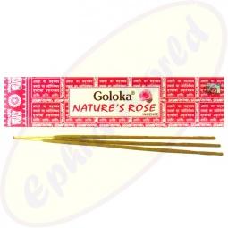 Goloka Nature´s Rose indische Masala Räucherstäbchen