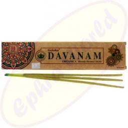 Goloka Organica Davanam indische Masala Räucherstäbchen