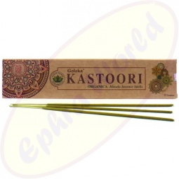 Goloka Organica Kastoori indische Masala Räucherstäbchen