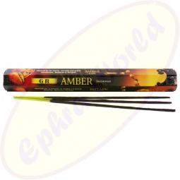 GR International Amber (Bernstein) Räucherstäbchen