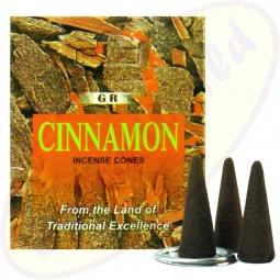 GR International Cinnamon(Zimt) Räucherkegel
