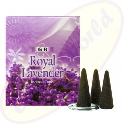 GR International Lavender Räucherkegel