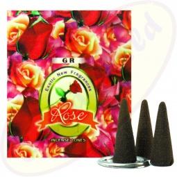 GR International Rose Räucherkegel