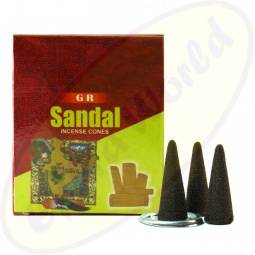 GR International Sandal indische Räucherkegel