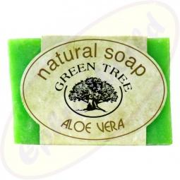 Green Tree Aloe Vera Seife 100g