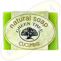 Green Tree Cucumber Seife 100g