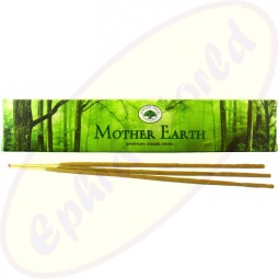 Green Tree Mother Earth indische Masala Räucherstäbchen