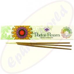 Green Tree Tibetian Flower indische Masala Räucherstäbchen