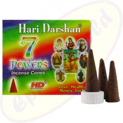 Hari Darshan 7 Powers Räucherkegel