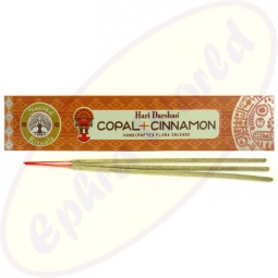 Hari Darshan Masala Räucherstäbchen Copal & Cinnamon