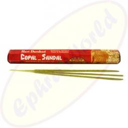 Hari Darshan Copal Sandelholz indische Räucherstäbchen
