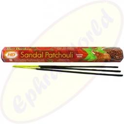 Hari Darshan Sandal Patchouli indische Räucherstäbchen