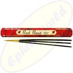 Hari Darshan Red Rose indische Räucherstäbchen