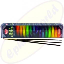 HEM 7 Colours indisches Räucherstäbchen Set