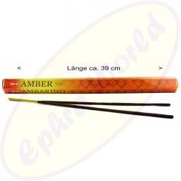 HEM Amber XL indische Räucherstäbchen