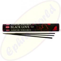 HEM Black Love indische Räucherstäbchen