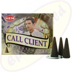 HEM Call Client indische Räucherkegel