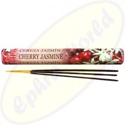 HEM Cherry Jasmine indische Räucherstäbchen