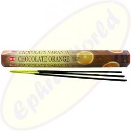 HEM Chocolate Orange indische Räucherstäbchen