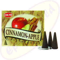HEM Cinnamon Apple indische Räucherkegel
