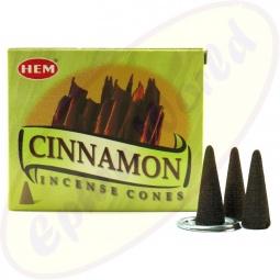 HEM Cinnamon (Zimt) indische Räucherkegel