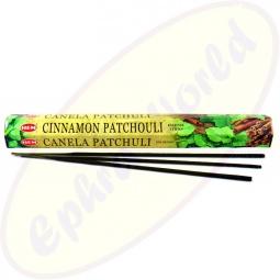 HEM Cinnamon Patchouli indische Räucherstäbchen