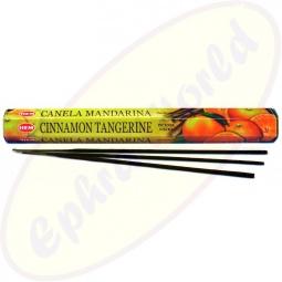 HEM Cinnamon Tangerine indische Räucherstäbchen