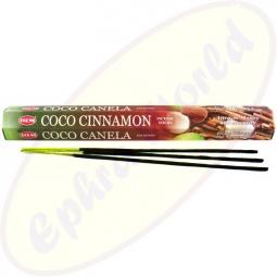 HEM Coconut Cinnamon indische Räucherstäbchen