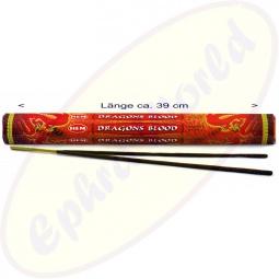HEM Dragons Blood Red XL indische Räucherstäbchen