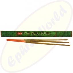 HEM Flora Patchouli indische Masala Räucherstäbchen