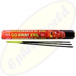 HEM Go Away Evil indische Räucherstäbchen