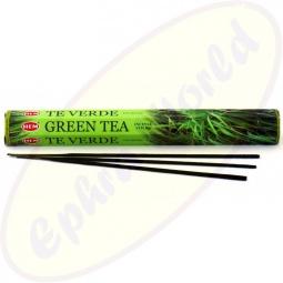 HEM Green Tea indische Räucherstäbchen