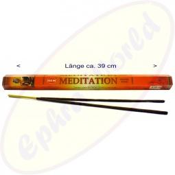 HEM Meditation indische XL Räucherstäbchen