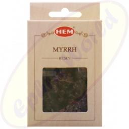HEM Räucherharz Myrrhe 30g