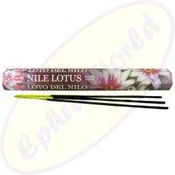 HEM Nile Lotus indische Räucherstäbchen