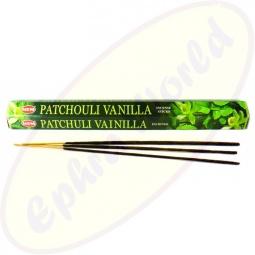HEM Patchouli Vanilla indische Räucherstäbchen