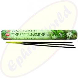 HEM Pineapple Jasmine indische Räucherstäbchen