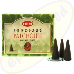 HEM Precious Patchouli indische Räucherkegel - Räucherkerzen