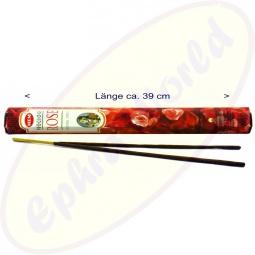 HEM Precious Rose indische XL Räucherstäbchen