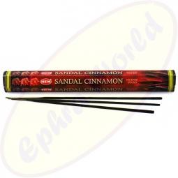 HEM Sandal Cinnamon indische Räucherstäbchen