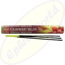HEM Strawberry Melon indische Räucherstäbchen