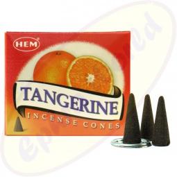 HEM Tangerine Räucherkegel